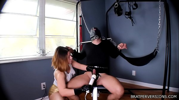 Orgasm Ruined by His Domina