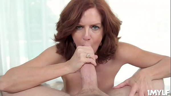 Busty MILF Andi James is ready to c. on some thick cock and gets treated like a little slut