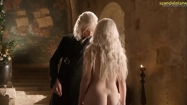 Emília Clarke nude in Game of Thrones