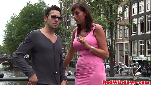 Real amsterdam prostitutes in threeway Thumb