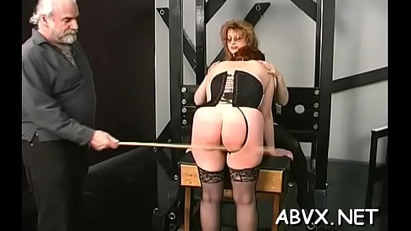 Attractive girl caresses cunny