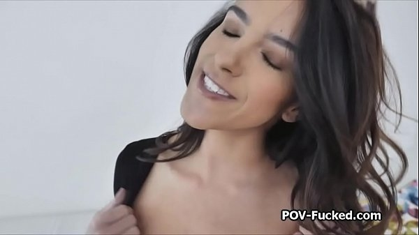 Rimming and sucking busty hottie on casting