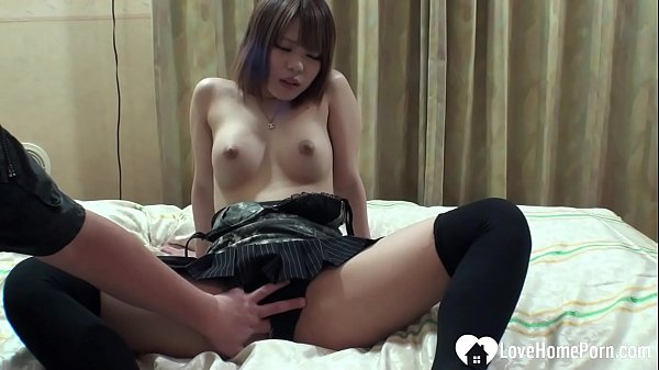 Small tits babe loves the taste of cum