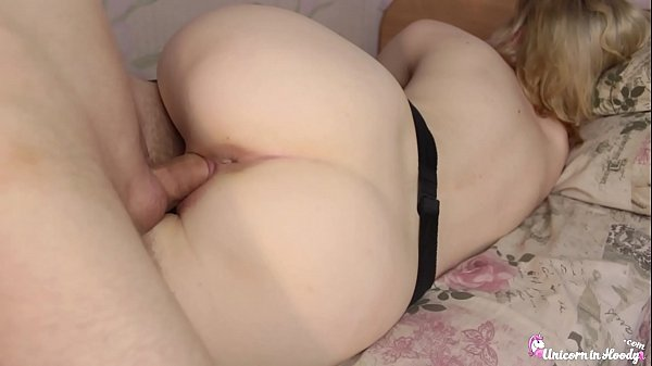 Schoolgirl in Stockings Passionate Fucking afte...