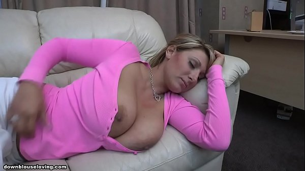 Pink shirt boobs out sleeping – Demi Scott
