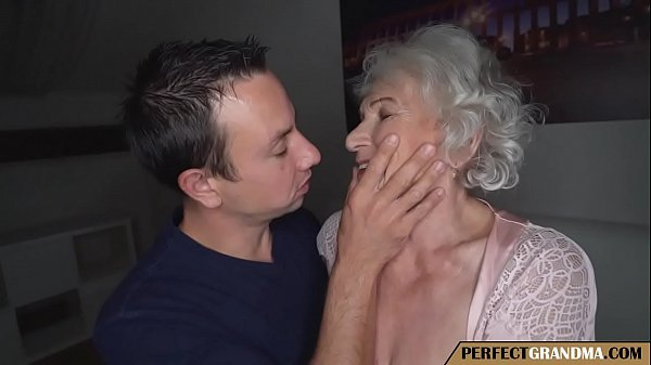 grandma cheats with young boy Thumb
