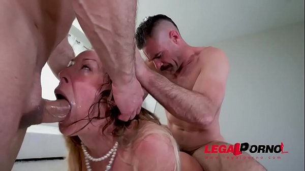 Horny Cherie DeVille gets all her holes filled ...