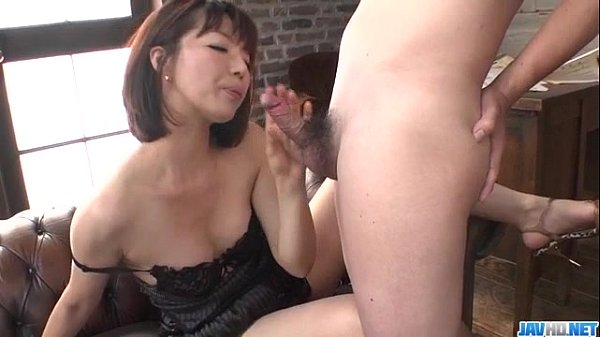 Izumi manaka hot milf gets ready for a young cock 2