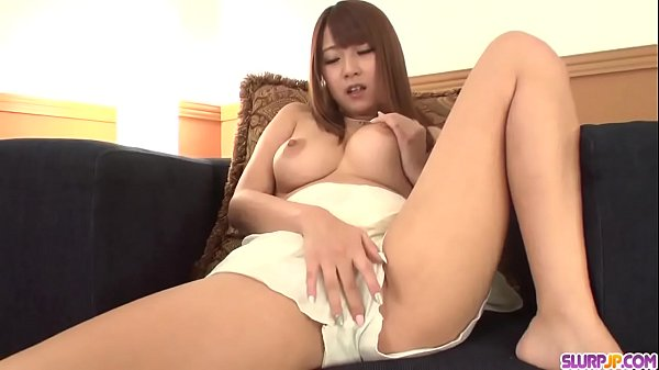 Hitomi Kitagawa plays with the cock between the tits - More at Slurpjp.com