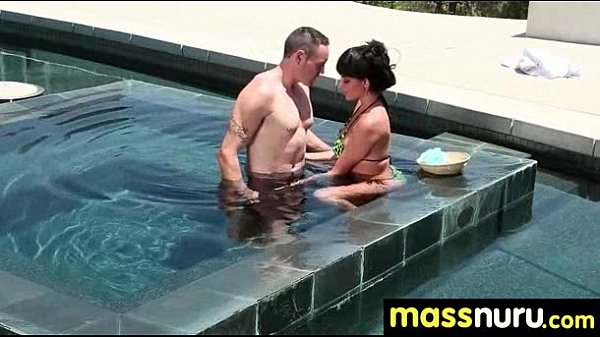 SEXY body gets a happy ending massage 5