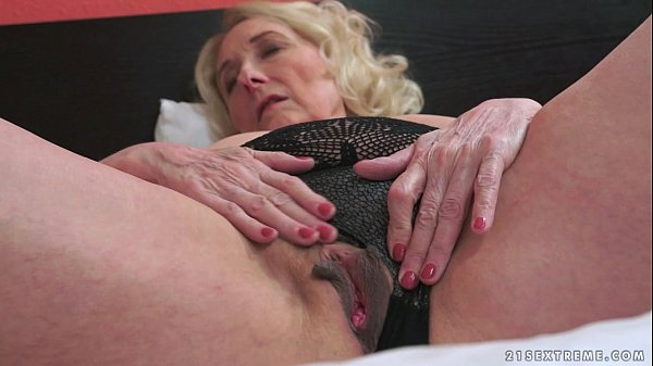 Horny Granny And Her y. Lover Thumb