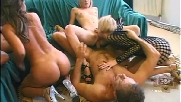 Two young whores splitting Rocco Siffredi cock