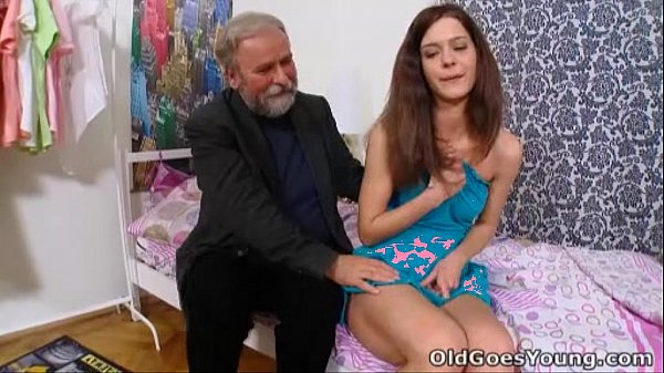 Old Goes Young - Nadya and her man are in the b...