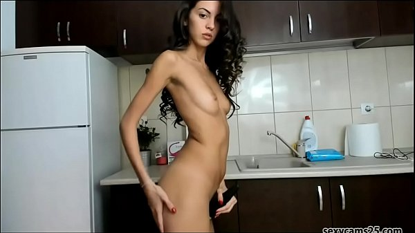 Cute Petite Girl with Perfect body Dancing on kitchen - sexycams25.com