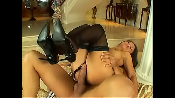 Asian babe Mya Luanna fucked doggy style surrounded by Greek statues