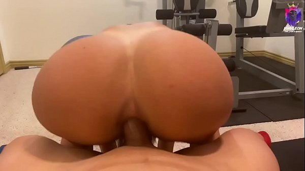 Married latina gets anal fucked by her personal trainer after workout