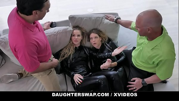 DaughterSwap - Hot Teens (Bella Rose) (Leah Lee) Punished By Step Dad For Stealing