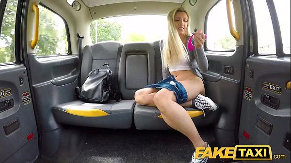Fake Taxi Hot blonde Sophia Grace sex toy turns on in cab Thumb