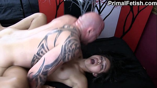 Interracial Erotic Massage w/Wild Orgasms and F...