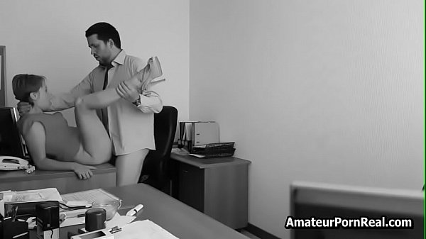 Chief Fucks Slutty Secretary Office Hidden Cam ...