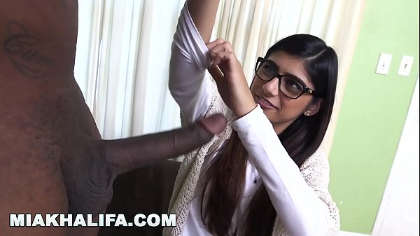 MIA KHALIFA - Rico Strong Gives Mia Her Very Fi...
