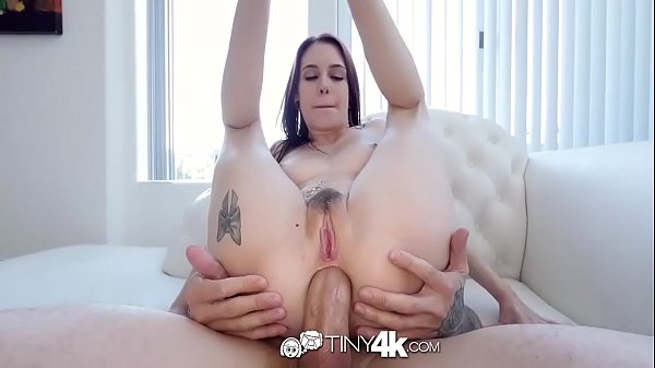 Tiny4k Special toy play before anal fuck with petite Anna Deville