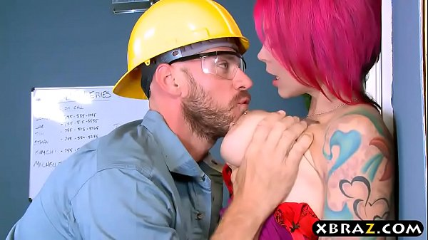 Big boobs boss Anna Bell Peaks fucks manager in...
