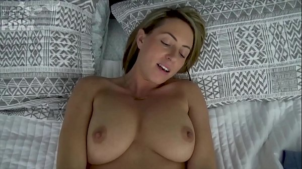 Mom Helps Son Relax Before Big Test - POV, MILF, Family Sex - Roxxxie Blakhart