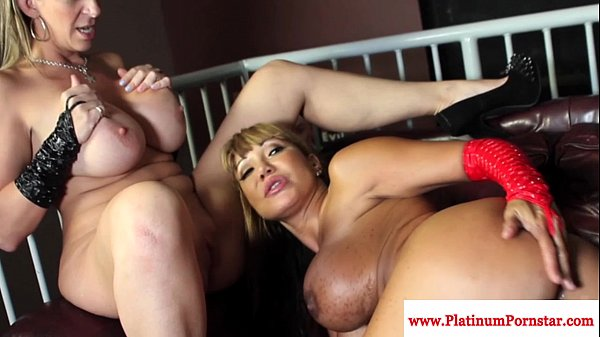 Ava Devine and Sarah Jay interacial fun