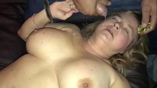 Wife gangbanged at adult theater