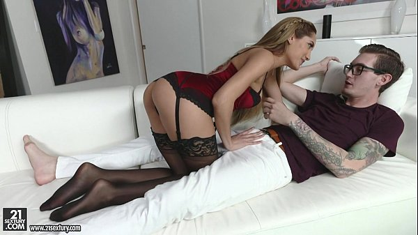Chloe Amour hot Footjob and Cock-riding