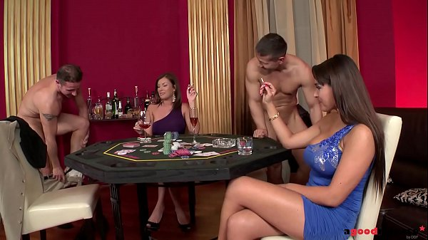 Busty Dona Bell and Valery Summer Bet on Groupsex Thumb