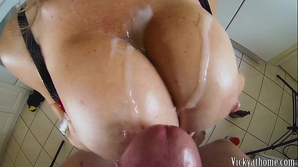 Big Tits Covered In Jizz!! Hall of Fame MILF Vi...