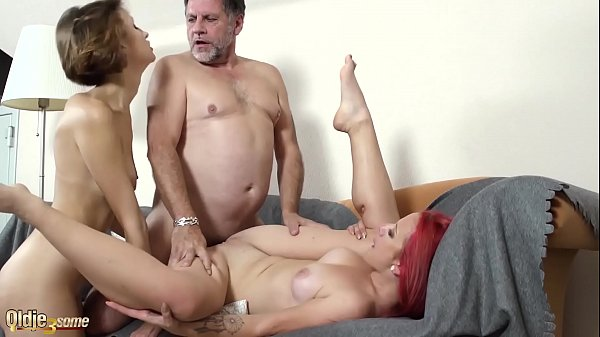 Hardcore pussy fucking and sucking in old vs young