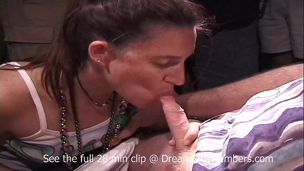 Wild Mardi Gras Party With Public Pussy Eating & Cock Sucking
