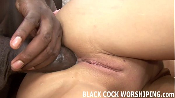 His big black cock is really going to punish my...