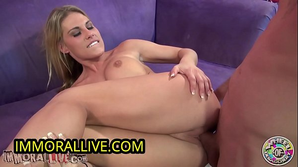 Busty Blonde Charisma Cappelli SQUIRTS for the ...