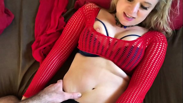 Horny Stepmom wants her stepson to cum for her ...