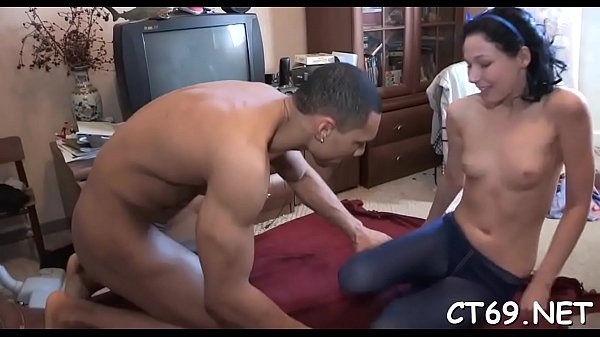 Babe receives overspread with cum