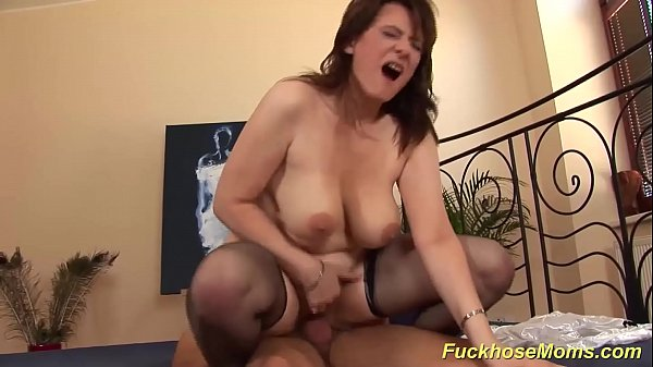 big natural boob chubby mom loves stepson