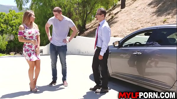Alluring blonde MILF Nicole Aniston gave her nephew an ultimate sexperience that he will never forget.