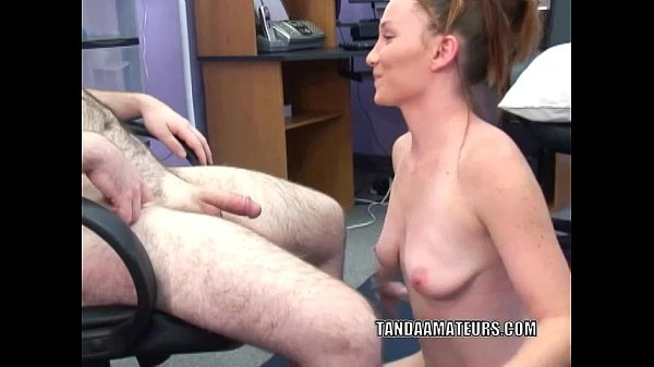 Horny housewife Navaya is going down on a stiff cock