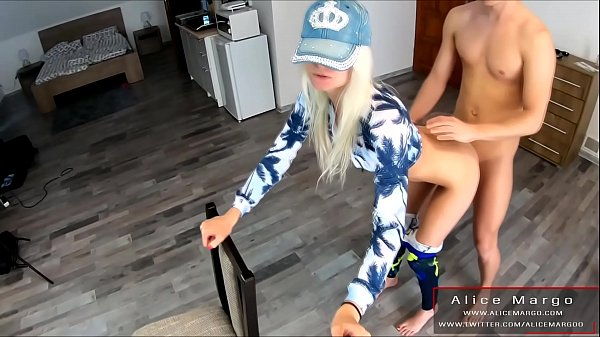 Cum on Tits! Vews From Selfie Stick! Amateur, Teen and Blonde! AliceMargo.com Thumb