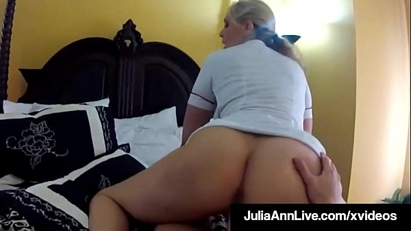 Medical Milf Julia Ann Busts A Nut Milking A Cock On Spy Cam