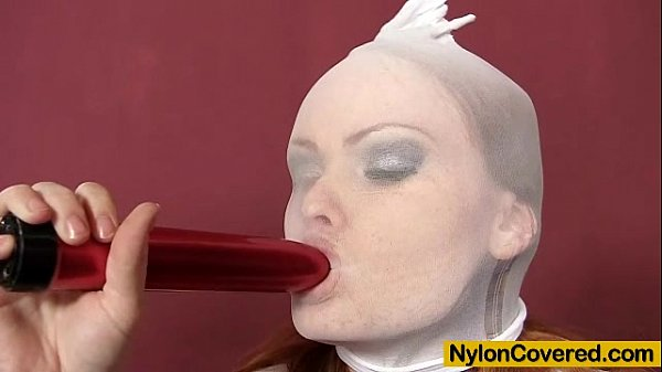 Horny Samantha gets nylon all over her sexy body Thumb