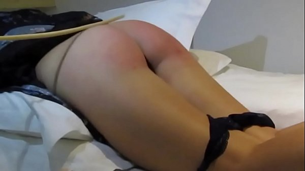 Stepdaughter spanked