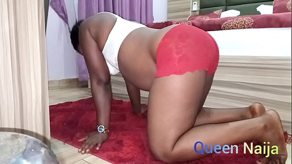 African doggystyle sweet sex on the floor.