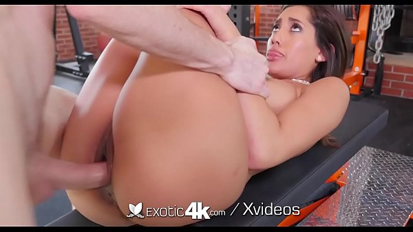 EXOTIC4K Gym Girl Strips Down And Fucks Workout Partner