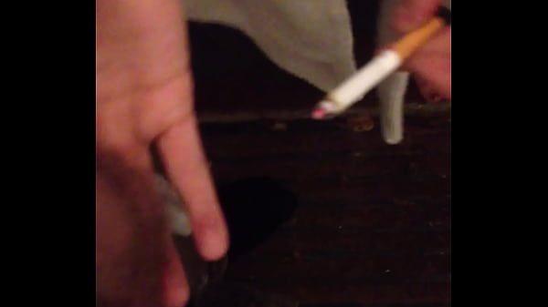 Putting my cigarette out on my boywhore's balls