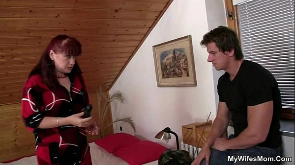 She finds mom sitting on her man's cock!